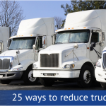 25 Ways to Reduce Truck Fleet Costs