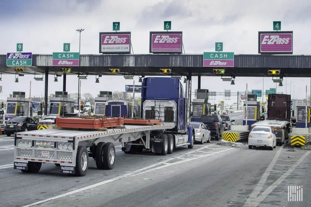 commercial fleet control toll costs